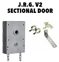 Garage Door J.R.G. V2 Sectional Door Chain Hoist 4.5:1, 1